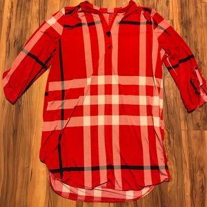 Tops - Plaid Tunic/Dress